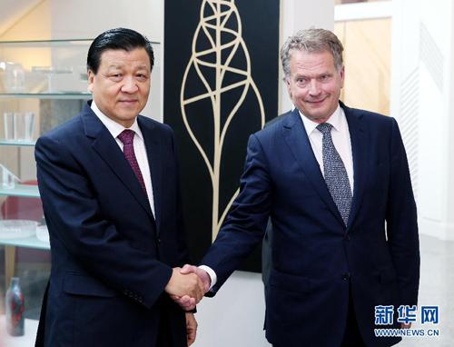 مسؤول بارز بالحزب الشيوعي الصيني يزور إلى فنلندا