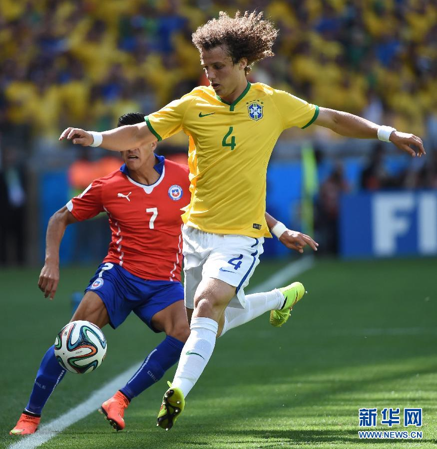 Brazil beat Chile to reach World Cup quarterfinals