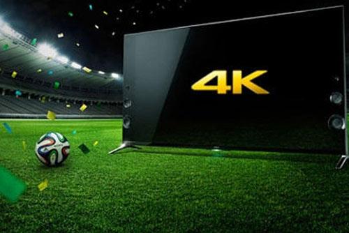 4K超高清信号转播世界杯