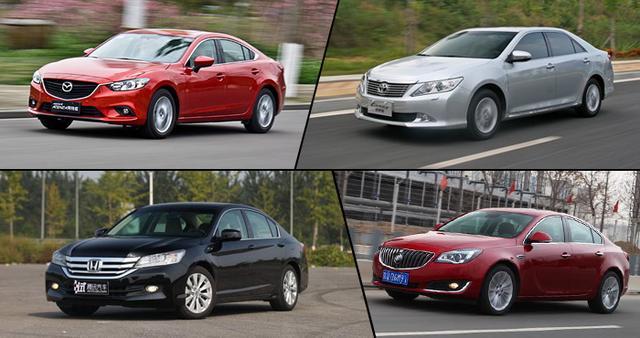 四款2.0L家用中级车推荐 居家经济排量