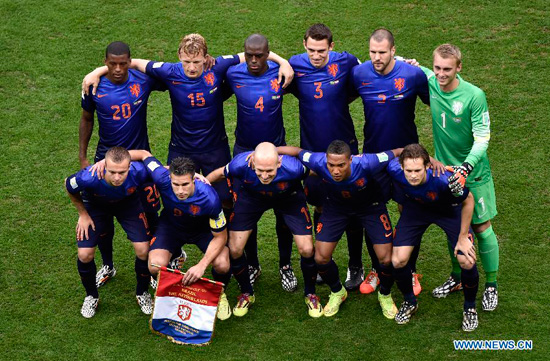 The Netherlands have won third place at the World Cup with a 3-0 victory over hosts Brazil at the Estadio Nacional.