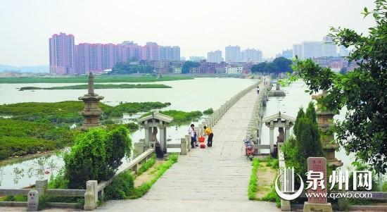 建于北宋年间的洛阳桥