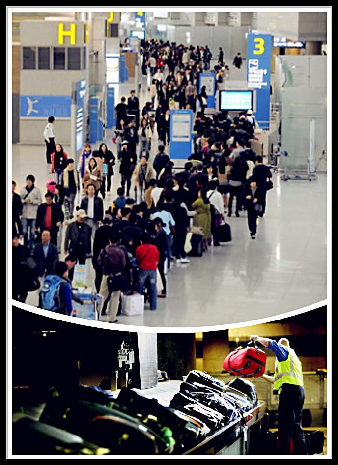 """日前,有机场安检人员告诉记者,机场都在显著位置用文字或者图片告知乘客:""""超过限定容量的充电宝和锂电池不能随身携带和交运。"""""""
