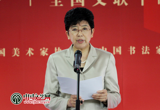 图为赵实在开幕式上发表讲话。