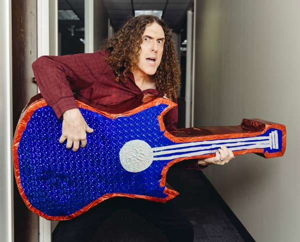 Hard work really does pay off ! After more than 30 years of making musical parodies Weird Al Yankovic may have his first no. 1 album.