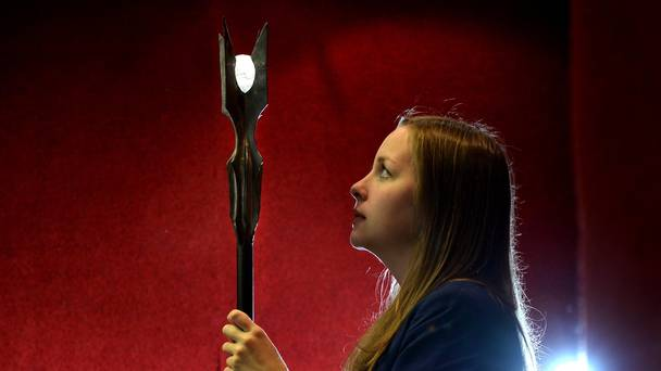 Magical weapons to go under the hammer