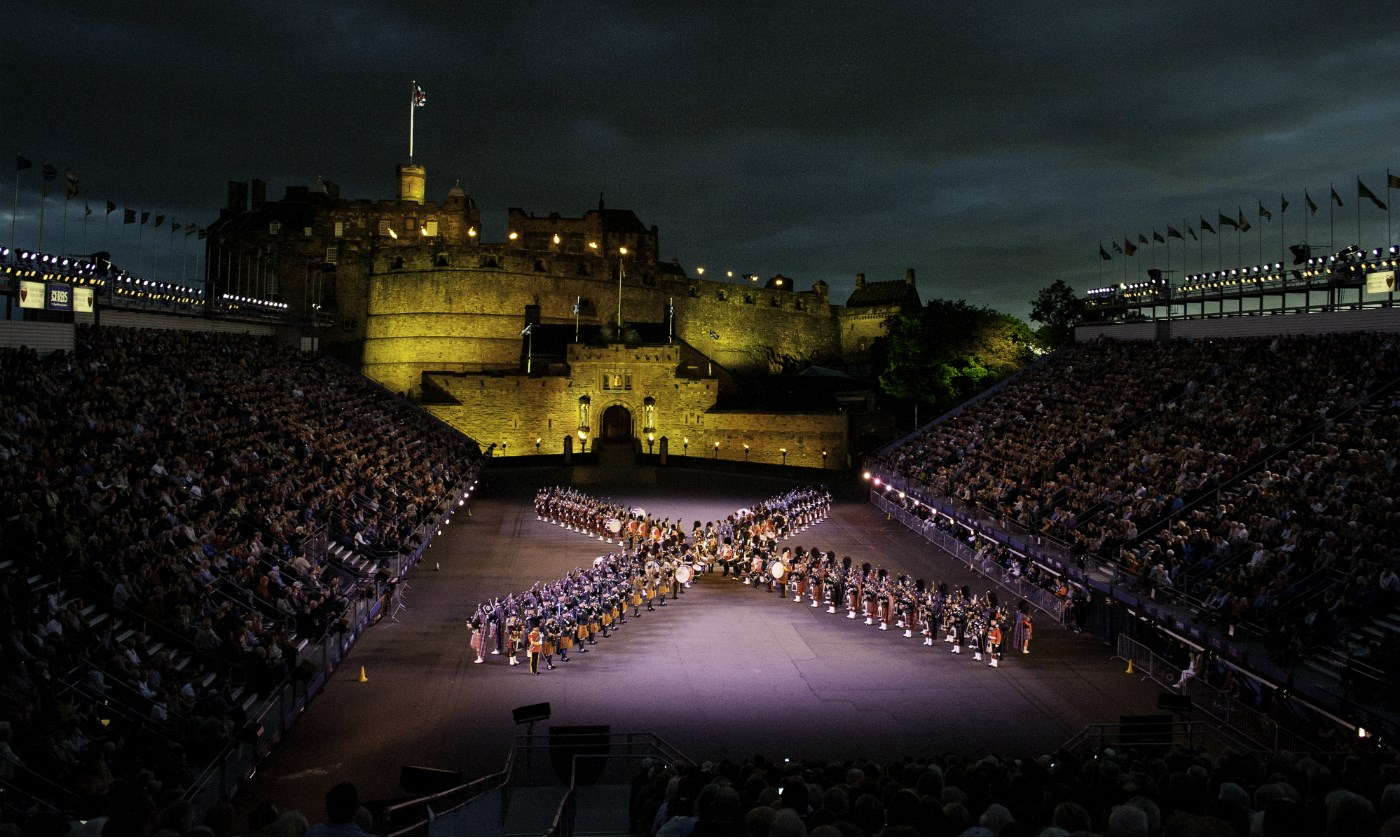 The Scottish capital is hosting an endless array of shows and activites, as its 12 major festivals running from April to December reach a climax in August. (File Photo)
