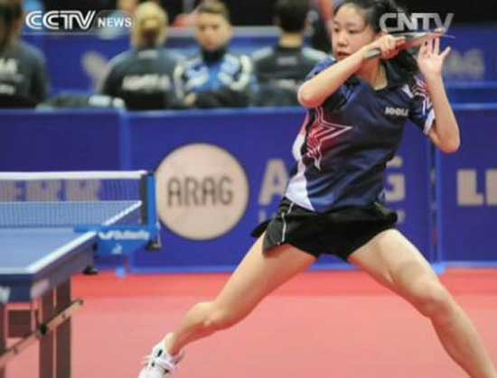 Northern California-born Lily Zhang is the number one ranked female table tennis player in America.