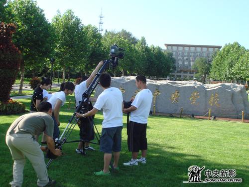 《中国1978》剧组在中央党校拍摄