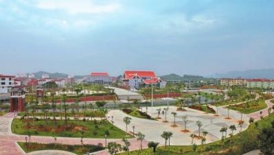 新圩镇滨溪休闲公园图片