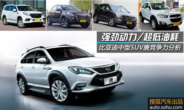 车型的选取主要是依据比亚迪唐价格(算上国家+地方新能源汽车高清图片