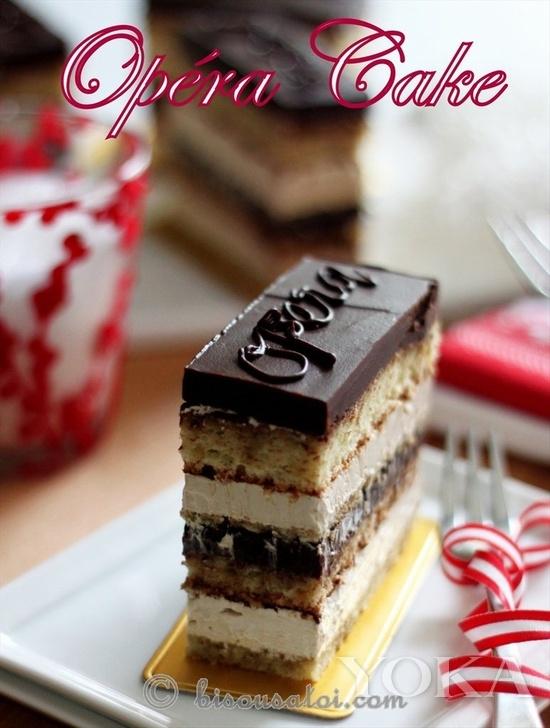 法国欧培拉蛋糕