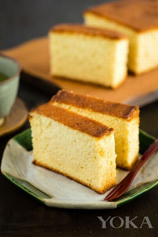 日本长崎蜂蜜蛋糕