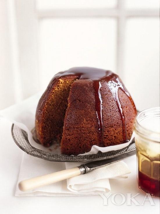 英国糖浆松糕布丁