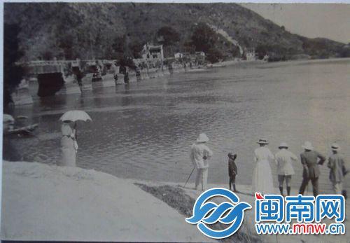 江东桥,拍摄时间在1900年左右