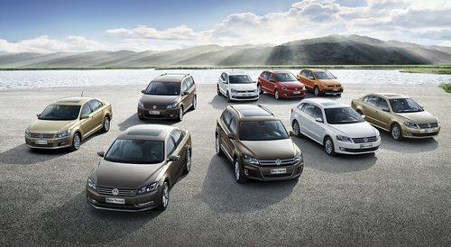 上海大众汽车双品牌均推出了多款新车型