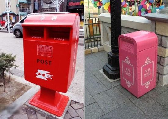 垃圾扔进邮筒?出国游的你会不会扔垃圾?