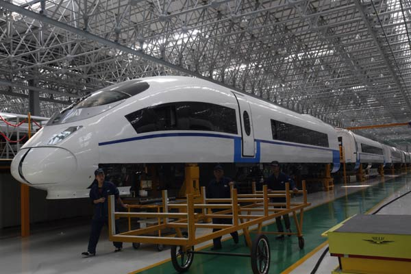Chinese enterprise re bids for mexico high speed railway for China railway 13 bureau group corporation