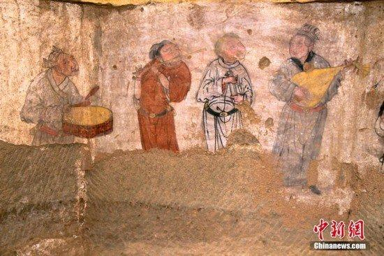 mongols china and the silk road yuan dynasty tomb murals