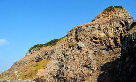 漳州火山岛:一半是海水,一半是火焰