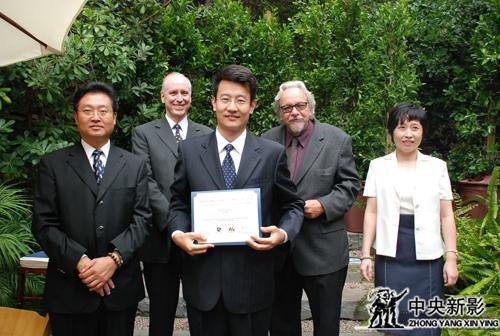 2008年参加中美首届影视产业高管培训班