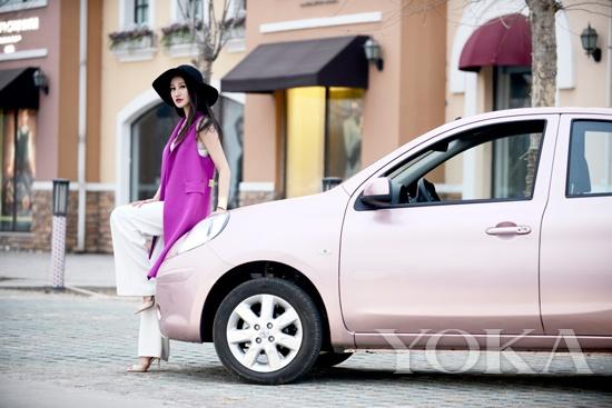 紫罗兰色凸显高贵气质成2015最流行色彩