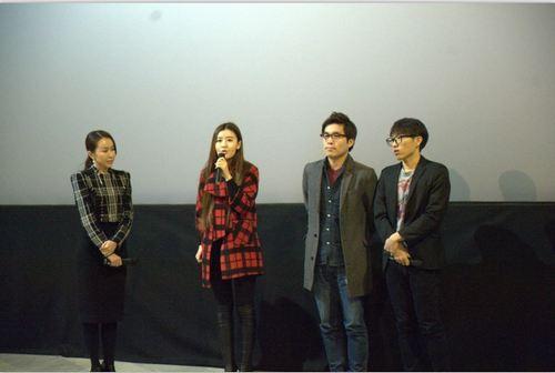节目制片人及主持人董艺女士、中方导演周聪女士、韩方导演柳载光先生