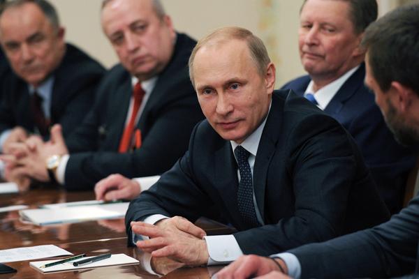 Президент РФ В.Путин встретился с представителями ветеранских организацийМихаил Климентьев/пресс-служба президента РФ/ТАСС
