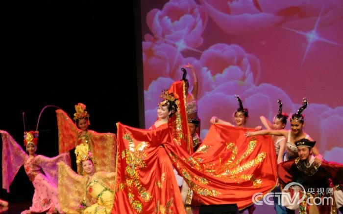 "Dance ""Royal Datang"" showcased the beauty of traditional Chinese culture."