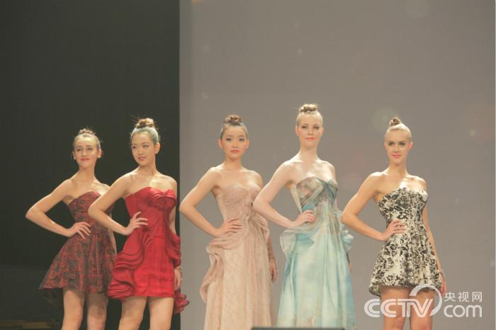 Collections wore by the finalists at the event were all designed by emerging local designers.