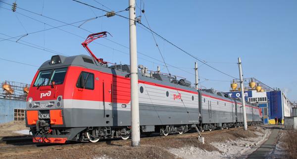 """На Дальнем Востоке проходят испытания самого мощного в мире электровоза """"Ермак"""""""
