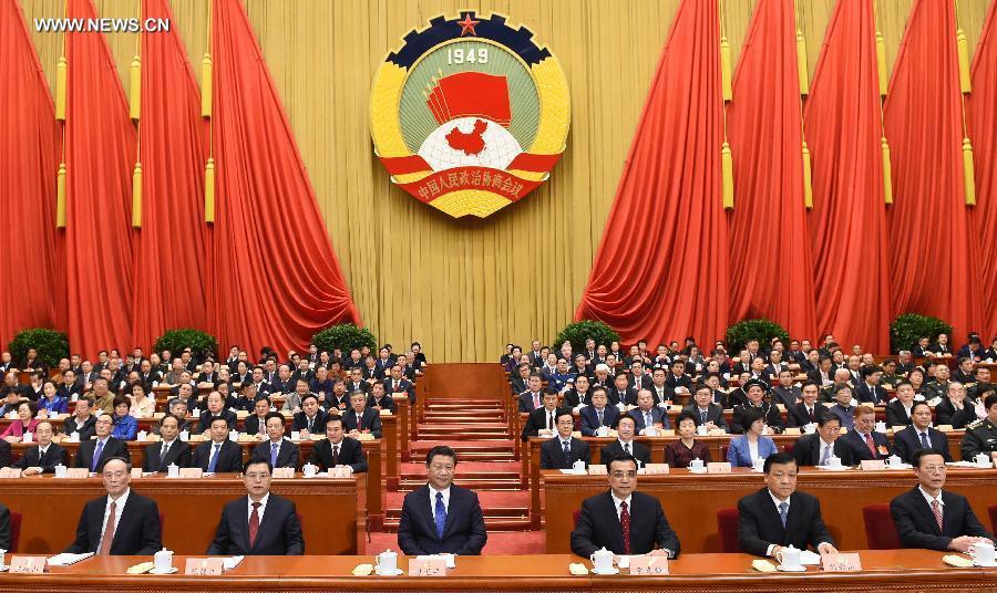 بدأت الدورة الثالثة للمجلس الوطني الـ12 للمؤتمر الاستشاري السياسي للشعب الصيني