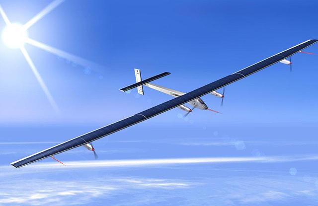 """Архив: Швейцарский самолет """"Солнечный импульс-2"""" на солнечных батареях"""