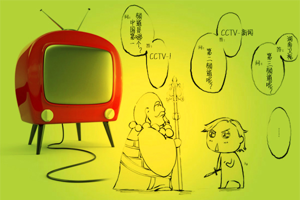 节后福利:中国电视的8个数据和1个段子_广告频