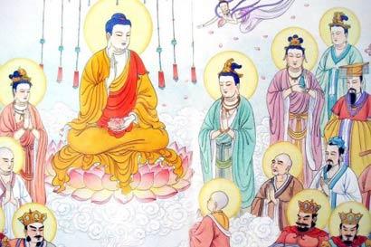 但在净土不能成佛,成佛还是要到娑婆世界。(图片来源:资料图片)