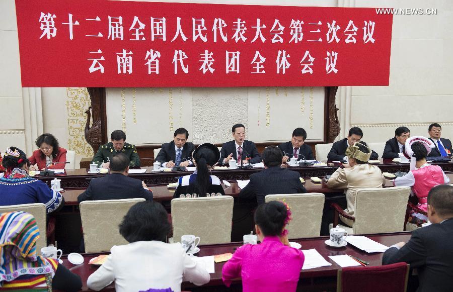أشاد تشانغ قاو لي بالإنجازات التي حققتها مقاطعة يوننان