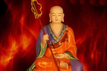 婆罗门女即当今的地藏菩萨(图片来源:资料图片)