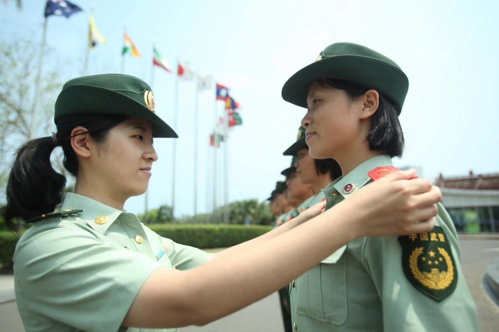 القوات المسلحة بهاينان تجري تدريبات إستعدادا لمنتدى بوأو الآسيوي