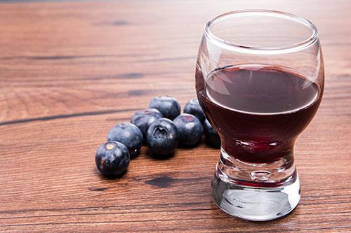 健康美酒 盛联蓝莓冰酒品鉴图片