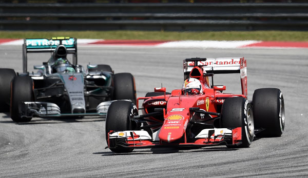 Sebastian Vettel drove a flawless tactical race to claim his maiden victory for Ferrari at the Malaysian Grand Prix on Sunday