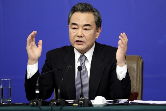 Ван И, Глава МИД КНР