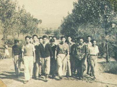 抗战时期主要大学迁移图