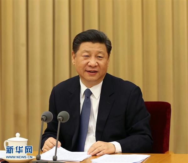 4月22日至23日,全國宗教工作會議在北京舉行。中共中央總書記、國家主席、中央軍委主席習近平發表重要講話。 新華社記者 馬占成 攝