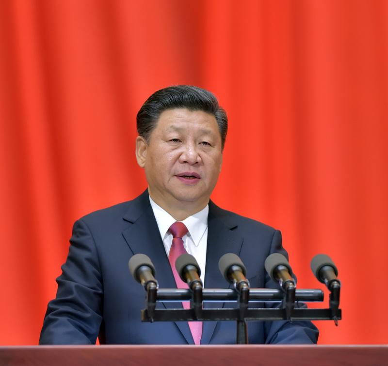 11月11日,纪念孙中山先生诞辰150周年大会在北京人民大会堂隆重举行。中共中央总书记、国家主席、中央军委主席习近平在大会上发表重要讲话。