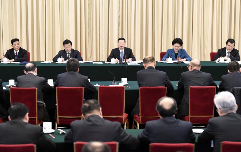 3月8日,中共中央政治局常委、国务院副总理张高丽参加十二届全国人大五次会议河北代表团的审议。