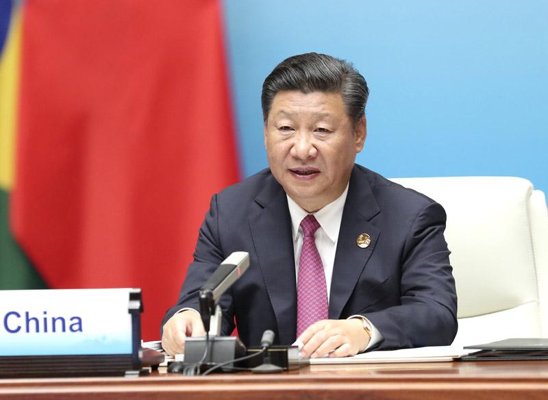 9月4日,金砖国家领导人第九次会晤在厦门国际会议中心举行。国家主席习近平主持会晤并发表题为《深化金砖伙伴关系 开辟更加光明未来》的重要讲话。