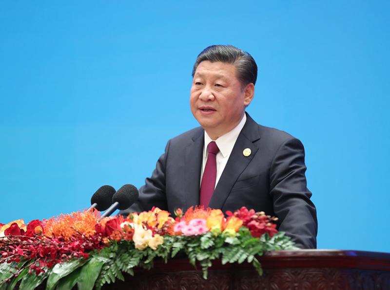12月1日,中共中央总书记、国家主席习近平在北京人民大会堂出席中国共产党与世界政党高层对话会开幕式,并发表题为《携手建设更加美好的世界》的主旨讲话。