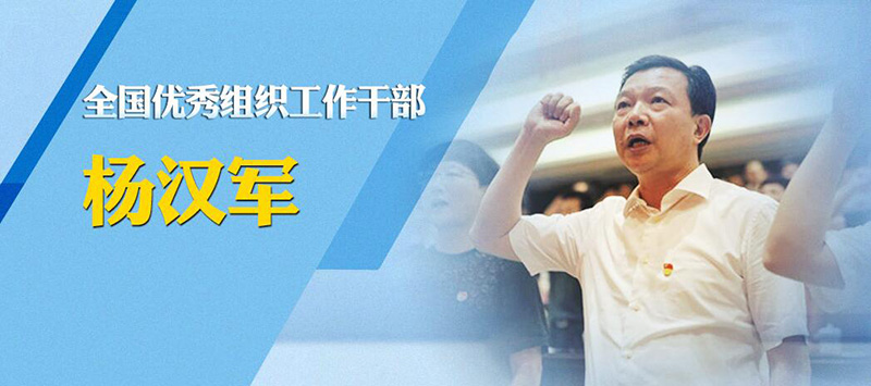 全国优秀组织工作干部杨汉军
