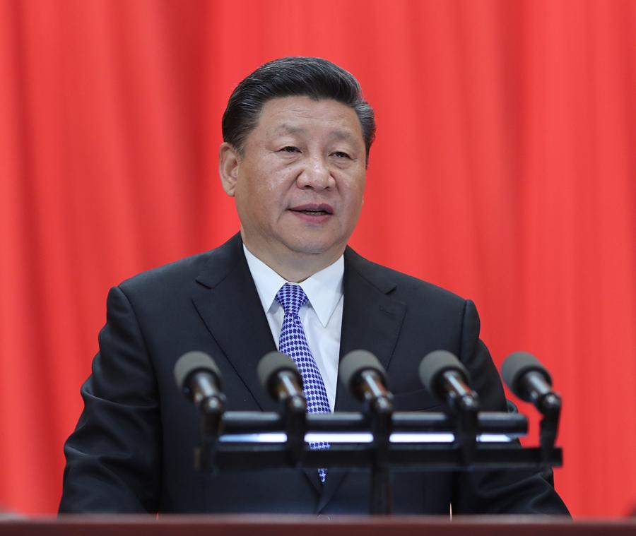 5月4日,纪念马克思诞辰200周年大会在北京人民大会堂隆重举行。中共中央总书记、国家主席、中央军委主席习近平在大会上发表重要讲话。