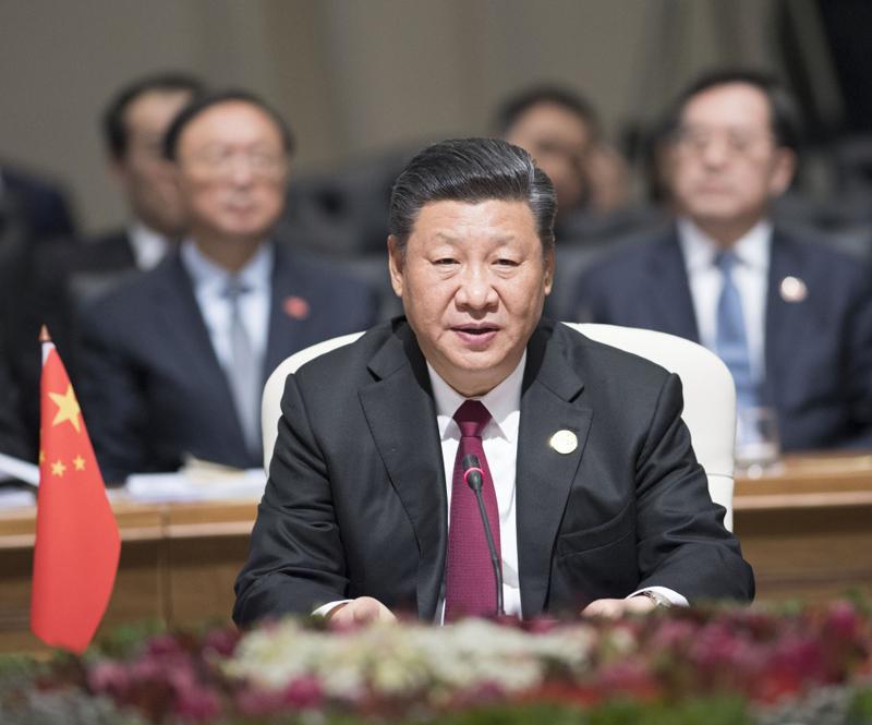 7月26日,金砖国家领导人第十次会晤在南非约翰内斯堡举行。南非总统拉马福萨主持。中国国家主席习近平、巴西总统特梅尔、俄罗斯总统普京、印度总理莫迪出席。习近平发表题为《让美好愿景变为现实》的重要讲话。